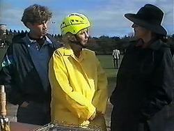 Ryan McLachlan, Madge Bishop, Dorothy Burke in Neighbours Episode 1238