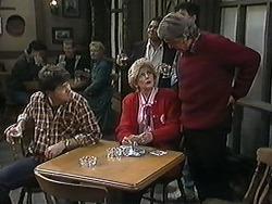 Joe Mangel, Madge Bishop, Clarrie McLachlan in Neighbours Episode 1238