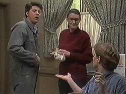 Joe Mangel, Dorothy Burke, Ryan McLachlan in Neighbours Episode 1238