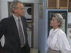 Jim Robinson, Helen Daniels in Neighbours Episode 1239