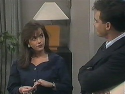 Caroline Alessi, Paul Robinson in Neighbours Episode 1239