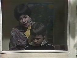 Kerry Bishop, Toby Mangel in Neighbours Episode 1239