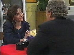 Caroline Alessi, Jim Robinson in Neighbours Episode 1239