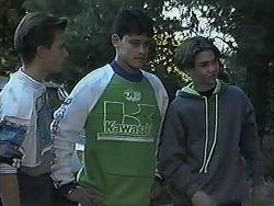 Todd Landers, Josh Anderson, Sean Jarrett in Neighbours Episode 1239