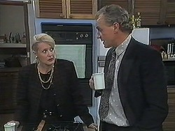 Rosemary Daniels, Jim Robinson in Neighbours Episode 1240