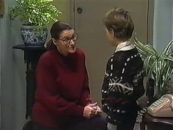 Dorothy Burke, Toby Mangel in Neighbours Episode 1240