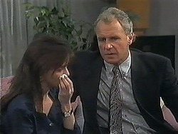 Caroline Alessi, Jim Robinson in Neighbours Episode 1240