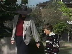 Dorothy Burke, Toby Mangel in Neighbours Episode 1240