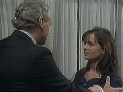 Jim Robinson, Caroline Alessi in Neighbours Episode 1240