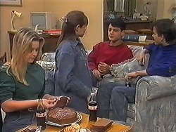 Melissa Jarrett, Cody Willis, Josh Anderson, Todd Landers in Neighbours Episode 1240