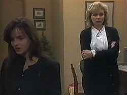 Caroline Alessi, Beverly Marshall in Neighbours Episode 1240