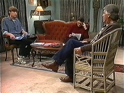 Ryan McLachlan, Dorothy Burke, Clarrie McLachlan in Neighbours Episode 1241