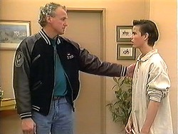 Jim Robinson, Todd Landers in Neighbours Episode 1241