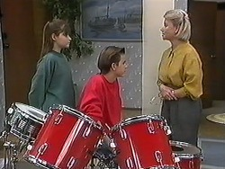 Cody Willis, Todd Landers, Helen Daniels in Neighbours Episode 1246