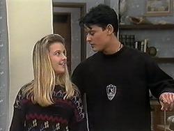 Melissa Jarrett, Josh Anderson in Neighbours Episode 1246