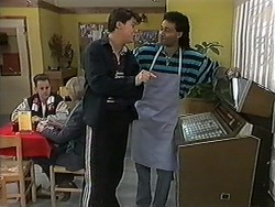 Joe Mangel, Eddie Buckingham in Neighbours Episode 1246