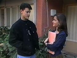 Josh Anderson, Caroline Alessi in Neighbours Episode 1246