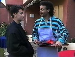 Josh Anderson, Eddie Buckingham in Neighbours Episode 1246