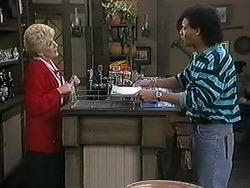 Madge Bishop, Eddie Buckingham in Neighbours Episode 1246