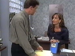 Paul Robinson, Caroline Alessi in Neighbours Episode 1246