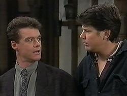 Paul Robinson, Joe Mangel in Neighbours Episode 1246