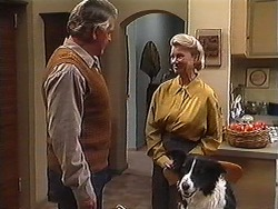 Clarrie McLachlan, Helen Daniels, Rosie in Neighbours Episode 1247