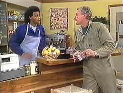 Eddie Buckingham, Jim Robinson in Neighbours Episode 1247
