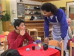 Josh Anderson, Eddie Buckingham in Neighbours Episode 1247