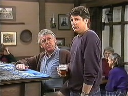 Clarrie McLachlan, Joe Mangel in Neighbours Episode 1247