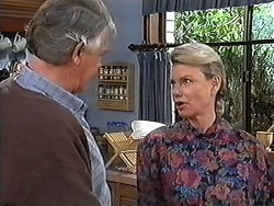 Clarrie McLachlan, Helen Daniels in Neighbours Episode 1247