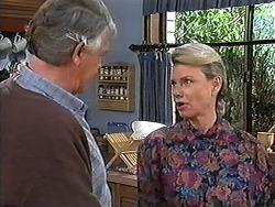 Clarrie McLachlan, Helen Daniels in Neighbours Episode 1247