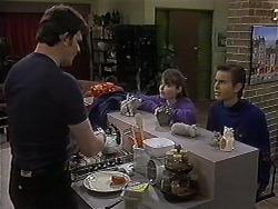 Des Clarke, Cody Willis, Todd Landers in Neighbours Episode 1248