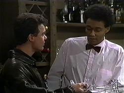 Paul Robinson, Eddie Buckingham in Neighbours Episode 1248