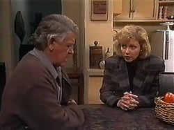 Clarrie McLachlan, Beverly Robinson in Neighbours Episode 1248