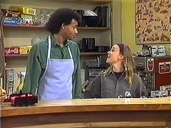 Eddie Buckingham, Gemma Ramsay in Neighbours Episode 1248