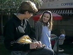 Ryan McLachlan, Gemma Ramsay in Neighbours Episode 1249