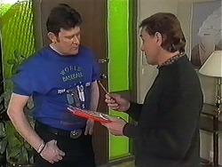 Des Clarke, Doug Willis in Neighbours Episode 1249