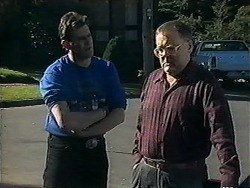 Des Clarke, Harold Bishop in Neighbours Episode 1249