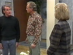 Doug Willis, Jim Robinson, Beverly Marshall in Neighbours Episode 1249