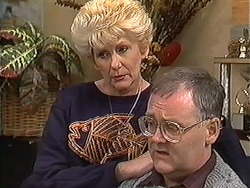 Madge Bishop, Harold Bishop in Neighbours Episode 1249