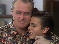 Jim Robinson, Todd Landers in Neighbours Episode 1249