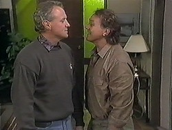 Jim Robinson, Doug Willis in Neighbours Episode 1249