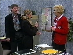 Roger Walsh, Melanie Pearson, Madge Bishop in Neighbours Episode 1250