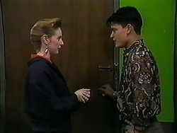 Melanie Pearson, Josh Anderson in Neighbours Episode 1251