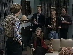 Ryan McLachlan, Jason, Annabelle Deacon, Roland, Timothy in Neighbours Episode 1251