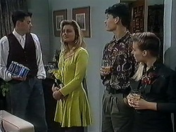 Roland, Sara-Jane, Josh Anderson, Melissa Jarrett in Neighbours Episode 1251