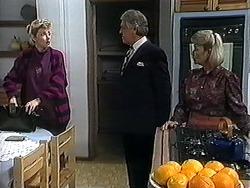 Beverly Robinson, Clarrie McLachlan, Helen Daniels in Neighbours Episode 1251