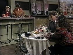 Melanie Pearson, Des Clarke, Roger Walsh, Tanya Walsh in Neighbours Episode 1251