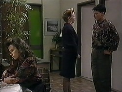 Tanya Walsh, Melanie Pearson, Josh Anderson in Neighbours Episode 1251