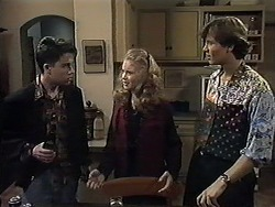 Roland, Annabelle Deacon, Ryan McLachlan in Neighbours Episode 1252
